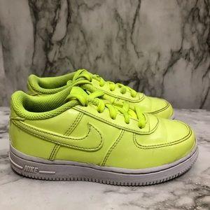 Nike neon sneakers size 10C